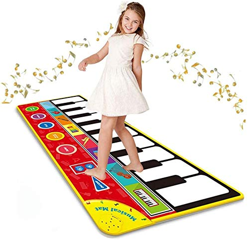 Read About Music Piano pad Keyboard Game pad New Large Piano pad boy Girl Gift