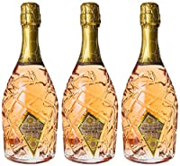 astoria moscato rosefashion victimspumante - 3 bottiglie da 750 ml