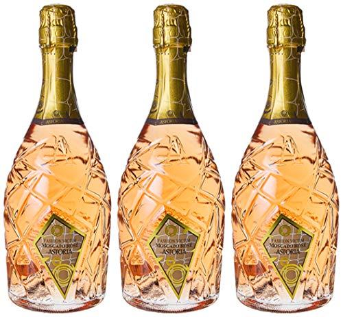 Astoria Moscato Rose Fashion Victim Spumante - 3 bottiglie da 750 ml