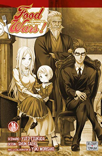 Food Wars Edition simple Tome 34