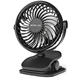 OPOLAR Battery Operated Fan, Clip on and Desk Fan, Personal Portable Fan