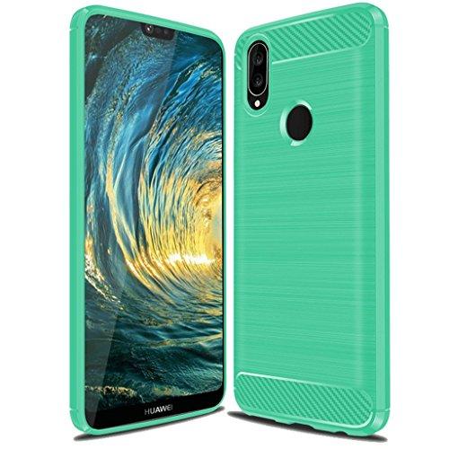Huawei P20 Lite Case,Huawei Nova 3E Case, Suensan TPU...