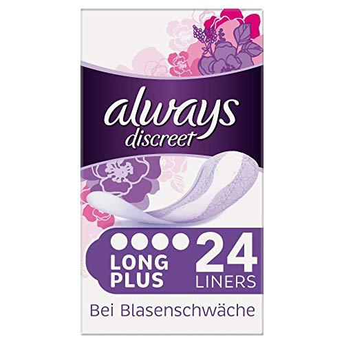Always Discreet Inkontinenz Slipeinlagen Plus bei Blasenschwäche (1 x 24 Stück)