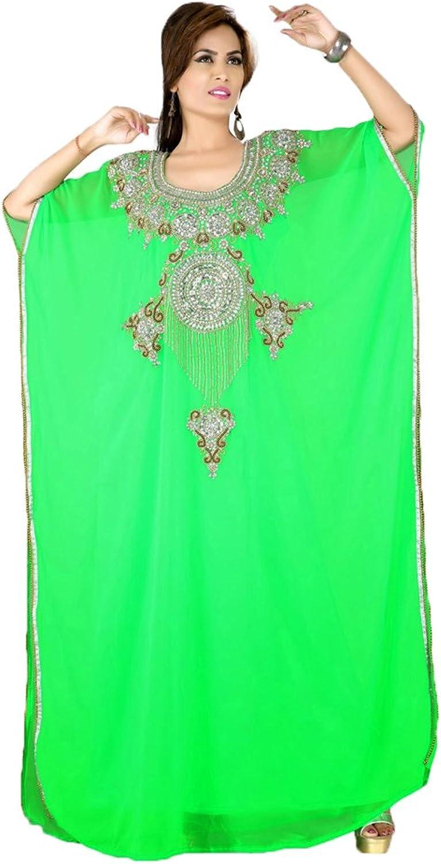 Kolkozy Fashion Women's Muslim Party Wear Kaftan Dress