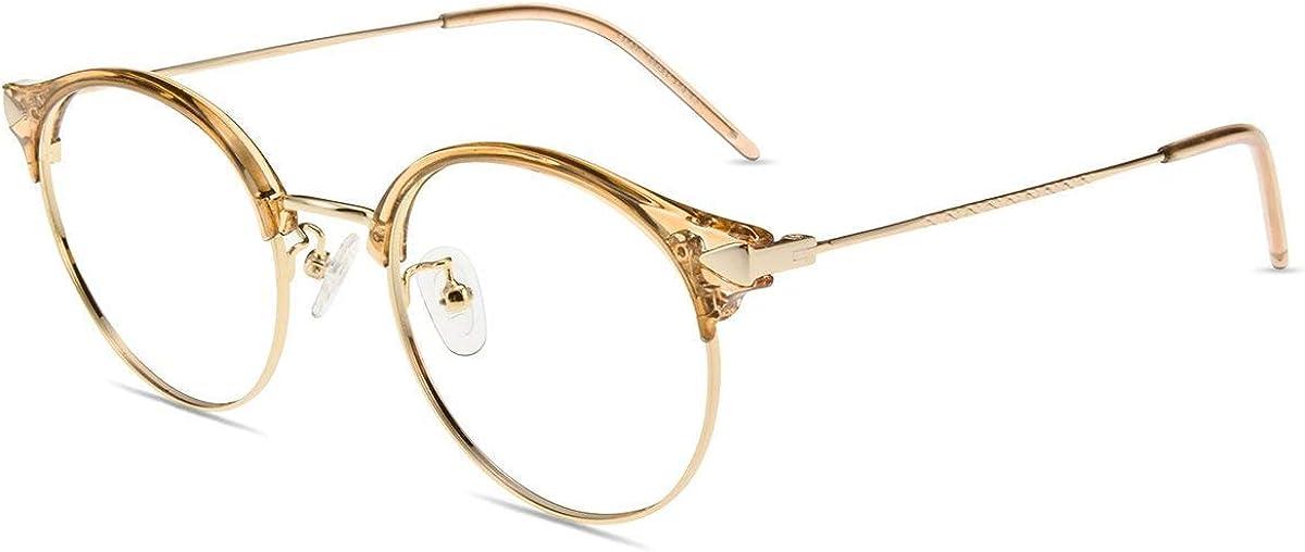 Firmoo Gafas para Ordenador Anti luz Azul,Evita la Fatiga Ojos, Gafas PC UV Luz Filtro Protección Azul Mujer Hombre para Antifatiga