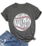 Theres No Crying in Baseball T Shirt Women...
