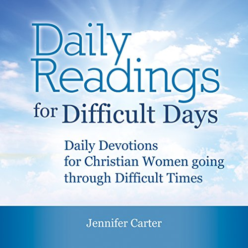 Daily Readings for Difficult Days audiobook cover art