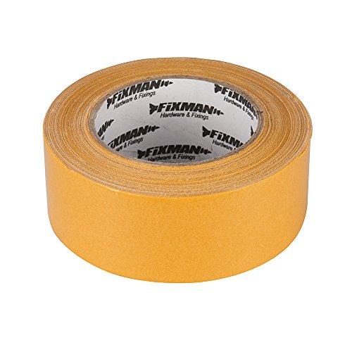 Fixman 198134 - Cinta adhesiva para alfombras (tamaño: 50mm)