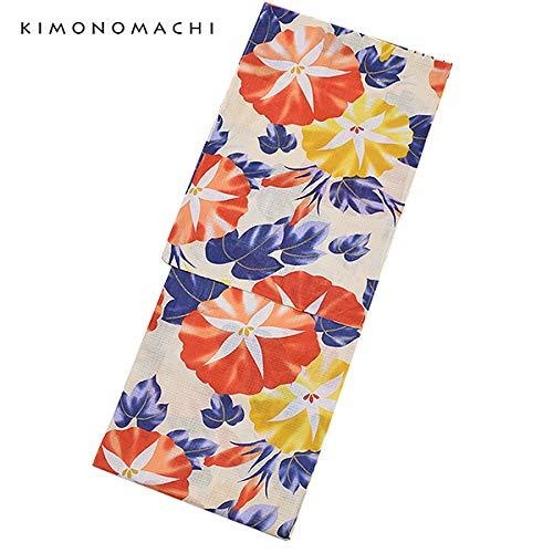 [KIMONOMACHI]オリジナル大きいサイズ浴衣3点セット浴衣セット/レディース/浴衣/長尺帯_046965_/下駄_0448462_/3L/