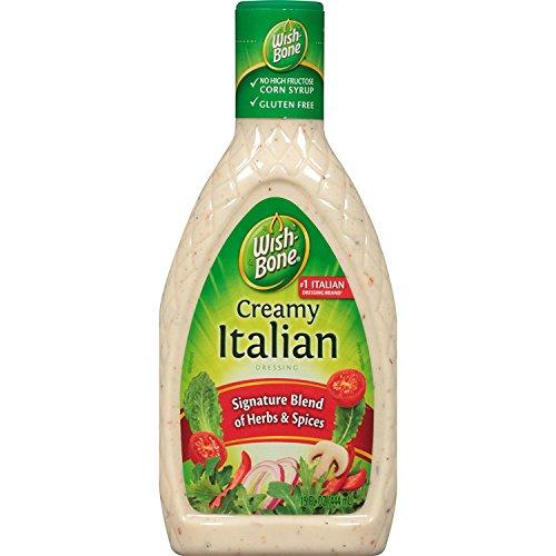 Wish-Bone Creamy Italian Dressing, 15 FL OZ
