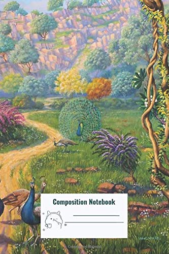 Composition Notebook: Way To Govardhan Composition Notebook, College ruled