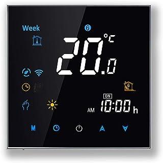 Arxus WiFi Programable Smart Termostato Pantalla LCD Controlador de Temperatura para Calderas de Calefacción/Aire Acondici...