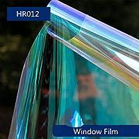 空気圧ツールアクセサリー空気圧機器 カラフルな装飾太陽の色合いカメレオンレインボーウィンドウフィルムパーティークリスマスホームモールガラスの装飾DIY 45cmx50cm (Size : 45cmx50cm)