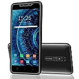 Moviles Libres 4G Android 9.0 Smartphone Libre   Pantalla 5.5 Pulgadas   4800mAh Dual SIM Dual Cámara (8MP+5MP) Smartphone   16GB ROM 128GB SD   Face ID Teléfono Móvil Libre