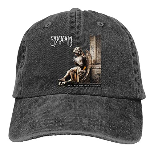 Man's Fashion Cap Sixx Am Prayers for The Damned Baseball Hats Trucker Hip Hop for Women Cool Sports Hats Adjustable Black