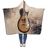 Not applicable Couverture à Capuche Portable pour Guitare électrique 60x50 Pouces pour Adultes