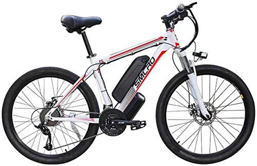 Alta velocidad 26 '' Electric bicicleta de montaña 48V 10Ah 350W extraíble de iones de litio de bicicletas Ebike de viaje for hombre de ciclo al aire libre de trabajo fuera y los desplazamientos
