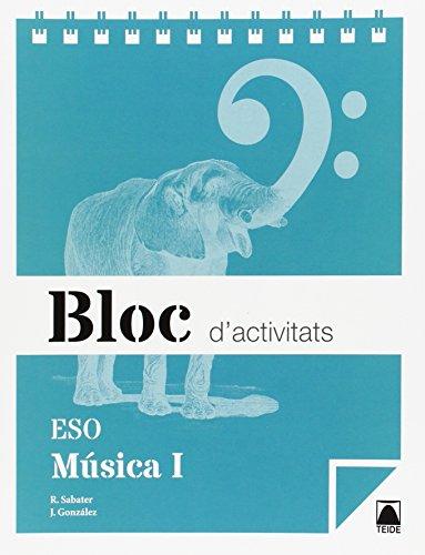 Bloc d'activitats. Música I ESO - 9788430790098