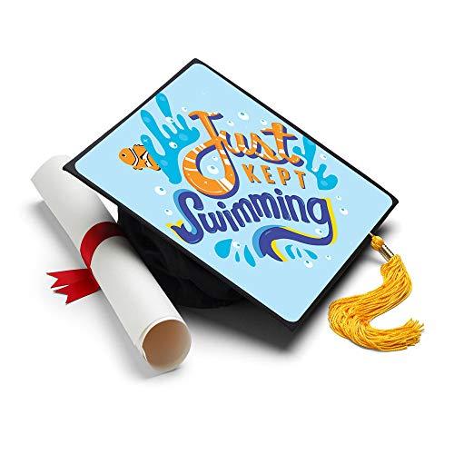 Just mantener natación Grad Cap Decoración borla–decorado Grad tapas