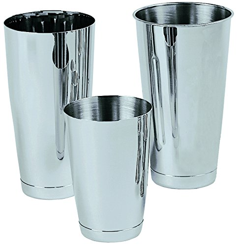 Update International 15 Oz 1-Piece Stainless Steel Shaker Cup