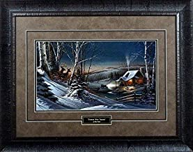 terry redlin evening with friends