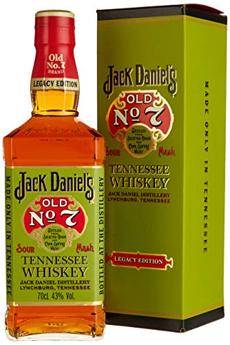 Jack Daniel's Legacy Edition - limititierte Sonderedition in der Geschenkbox - Tennessee Whiskey - 43% Vol. (1 x 0.7l)