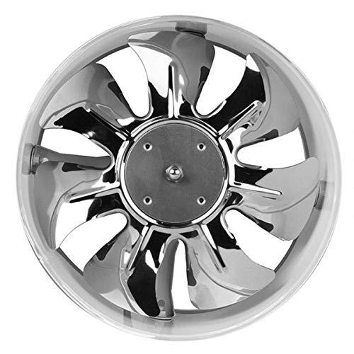 JYDQM El Mejor Ventilador de conducto en línea de 4 Pulgadas / 6 Pulgadas Ventilador de Escape Ventilador de enfriamiento de Aire Cuchillas de Metal (Size : 4inch)