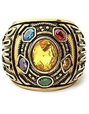 WAY2BB - Anello con 5 pietre infinite, guanto di Thanos