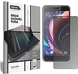 dipos I Blickschutzfolie matt kompatibel mit HTC One X10 Sichtschutz-Folie Bildschirm-Schutzfolie Privacy-Filter