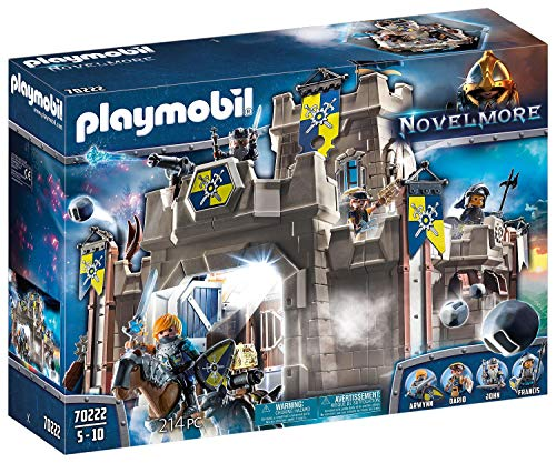 PLAYMOBIL Novelmore Fortress with Knights Playset Multicolored, 515 x 142 x 385 mm