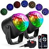 Ecoastal Party Disco Lights DJ Ball Strobe Led Rotating 7 Colorful Effects 3