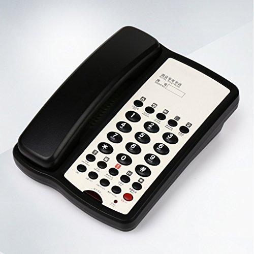 Téléphone Liuyu · Maison de Vie Extension Hôtel Chambre Message Lumière (Color : Black)