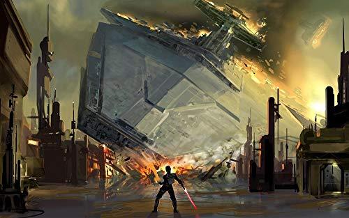 72Tdfc Película De Star Wars 3D Puzzles 1000 Piezas Adultos Rompecabezas De Madera Pintura Al Óleo Abstracta Animación Que Niños Y Adolescentes Aprendan Juguetes Educativos