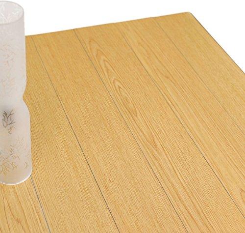 フロアタイル 木目 接着剤付き貼るだけ フローリング 床材 ハリーイージーデコタイル 7枚組(約1平米) ナチュラル ウッド