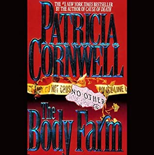 The Body Farm audiobook cover art