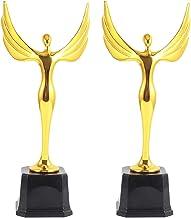 VOSAREA Gouden Trofee Engel Award Voor Kinderen Voetbal Voetbal Tafelvoetbal Sport Games Verjaardagscadeau (Gouden)
