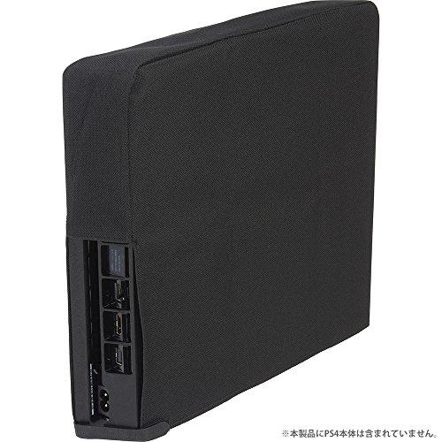 CYBER ・ 本体ホコリ防止カバー スリム 縦置きタイプ ( PS4 用) ブラック - PS4