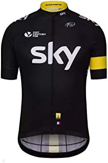 Team Sky Summer Cycling Jerseys Ropa Ciclismo Racing Short Sleeves Mens Bicycle Shirts