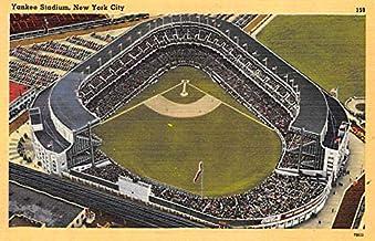 Yankee Stadium NYC, New York Base Ball Stadium Post Card Postcard New York City, NY USA Unused