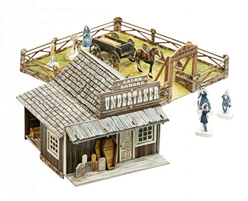 Umbum 445 Wild West Undertaker bordspel in slanke doos, meerkleurig