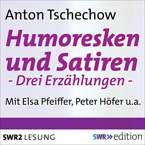 Couverture de Humoresken und Satiren
