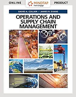 MindTap Operations and Supply Chain Management, 1 term (6 months) Printed Access Card