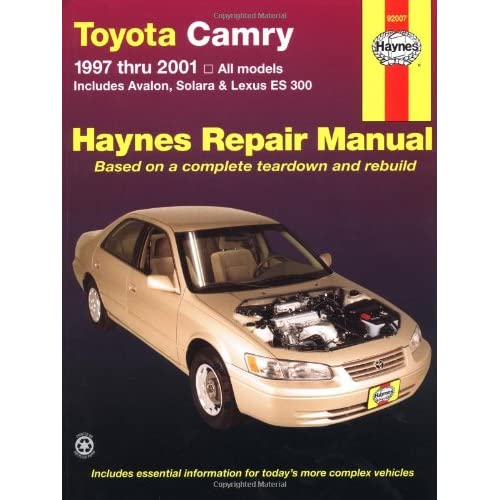 2001 lexus es300 service repair manual software