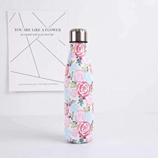 Metal Water Bottle Stainless Steel Vacuum Insulated Water Bottles Flask Thermal Sports Chilly 500ML Double Wall Direct Drinking