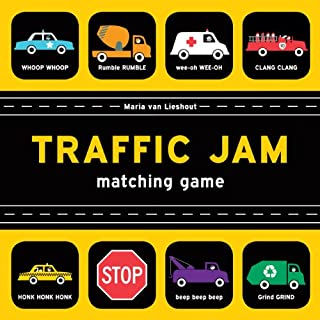 Traffic Jam Matching Game (Memory Matching Games for Adults and Toddlers, Car Matching Games for Kids, Preschool Memory Ga...