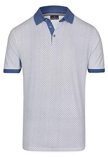Daniel Hechter Herren Polo-Shirt mit All Over Muster