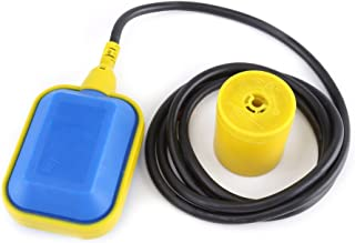 Water Level Float Switch,1pcs Cable Type Liquid Fluid Water Level Controller Sensor,10V-250V 10A(3.7M Cable)
