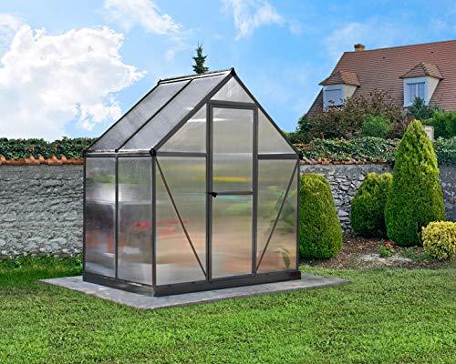 Palram Canopia Mythos Greenhouse (6x4, Grey)