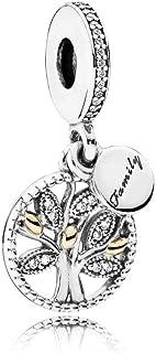 Pandora Women's Family Heritage Dangle Charm - 791728CZ, Sterling Silver
