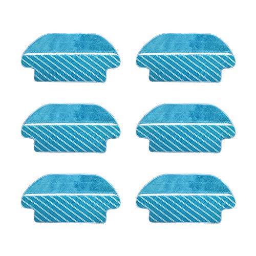 WuYan Hepa Mop Pads - Paño para aspiradora Cecotec Conga 3290 3490 3690 para Viomi V2 V-RVCLM21B Mijia STYJ02YM